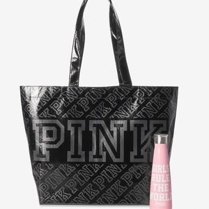 🆕Victoria Secret PINK Tote and water bottle